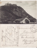 Deva - Vedere-Cetatea- rara-cenzura WWI, WK1, Circulata, Printata