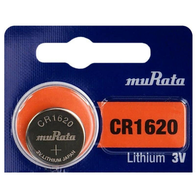 Baterie litiu CR1620 Murata 3V 1 Bucata /Set foto