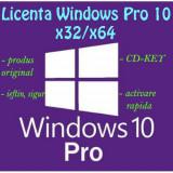 Licență ORIGINALĂ Windows 10 Pro x32/x64