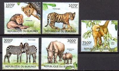 BURUNDI 2012, Fauna, MNH foto