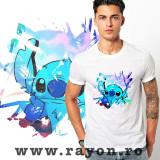 Cumpara ieftin Tricou Personalizat , Bumbac – Stitch Scratch