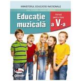 Educatie muzicala, manual pentru clasa a V-a   Anca Toader, Valentin Moraru, Aramis