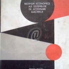 Regimuri economice ale sistemelor de actionare electrica
