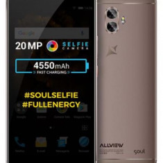 Smartphone Allview X4 Soul Xtreme, Procesor Helio P25 2.50 GHz, IPS Full Lamination Capacitive touchscreen 6inch, 4GB RAM, 64GB, 13MP, Wi-Fi, 4G, Dual
