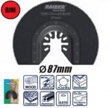 Disc segmentat de taiat lemn si metal unealta multifunctionala 87mm, Raider
