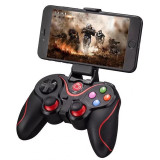 Gamepad LEHUAI-9078 Bluetooth Pentru Telefon , Tableta , PC , Smart TV , Smart Box Cu Acumulator Integrat