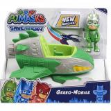 Masinuta cu figurina Pj Masks Save The Sky, Gekko-Mobile 95823