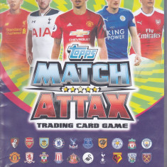 bnk crc Cartonase de colectie - Premier League 2015/2016 - cartonase + album