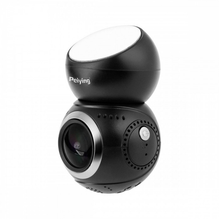 Camera Auto DVR PEIYING Basic V500 1.22 inch Full HD Black