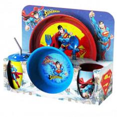 Set vesela+tacamuri Superman, 30x11x28cm, Seturi masa