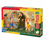 Cumpara ieftin Super puzzle Basme, 35 piese, D-Toys