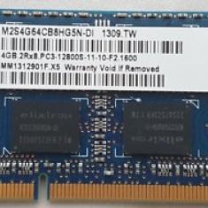 Memorii Laptop Elixir 4GB DDR3 PC3-12800S 1600Mhz
