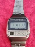 SEIKO Calculator Alarm LCD Primul de la Seiko Vintage Rar Stare Foarte Buna