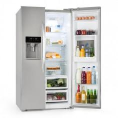 Klarstein Grand Host XXL, frigider, 550 l de gheață și distribuitor de apă, A +, argintiu