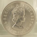 1 crown, 1959 Insulele Bermude UNC/ necirculata - comemorativa - de argint