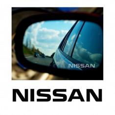 Stickere oglinda Etched Glass - Nissan