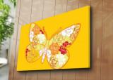 Tablou decorativ pe panza Horizon, 237HRZ4297, 70 x 100 cm, Multicolor