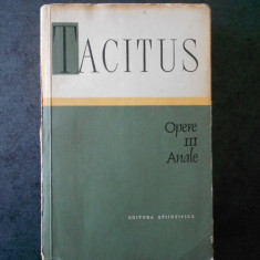 TACITUS - OPERE volumul 3