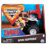 Masinuta Monster Jam, Scara 1:43, Zombie Spin Rippers