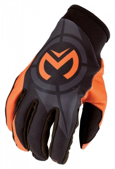 Manusi motocross Moose Racing Qualifier culoare portocaliu marime M Cod Produs: MX_NEW 33302994PE