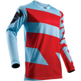 Tricou motocross Thor Pulse Level marime L Albastru/Rosu Cod Produs: MX_NEW 29104363PE