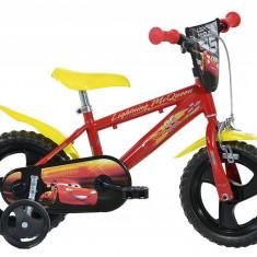 Bicicleta pentru copii CARS, 12 inch, maxim 6 kg, 3 ani+, Dino Bikes