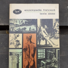 ENCICLOPEDIA FRANCEZA, TEXTE ALESE