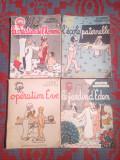 Jean Effel - LE ROMAN D'ADAM ET EVE - 4x reviste in limba franceza,1956