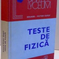 TESTE DE FIZICA , 1980
