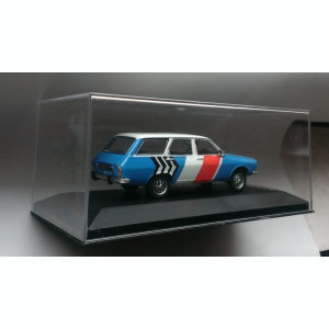 Macheta Renault 12 Break Gordini (Dacia 1300) raliu 1974 - Atlas Rally 1/43