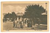 2471 - FOCSANI, Market, Romania - old postcard - unused, Necirculata, Printata
