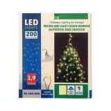 Instalatie luminoasa de exterior Home ML 200/WW, culoare alba calda, 200 leduri, IP44 Mania Tools