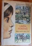 manual de limba romana pentru clasa a 6-a din anul 1988