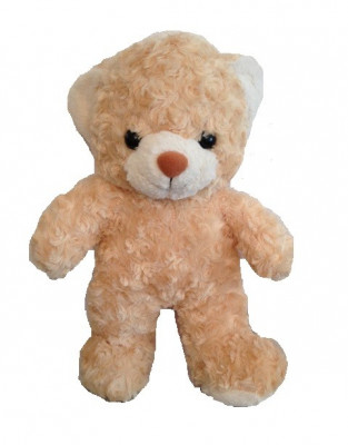 Ursulet pufos de plus 40cm foto