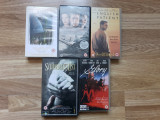 Lot filme război casete video VHS - Schindler's List, Pearl Harbor, Glory