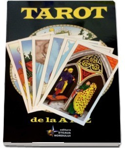 Manual complex pt Tarot+Set 78Carti TAROT GHICIT Rider Waite lb romana,ed lim-SG foto