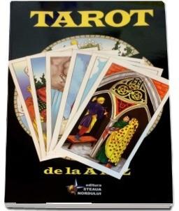 Manual complex pt Tarot+Set 78Carti TAROT GHICIT Rider Waite lb romana,ed lim-SG