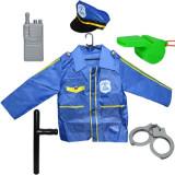 Costum pentru politist - accesorii incluse, 6 piese