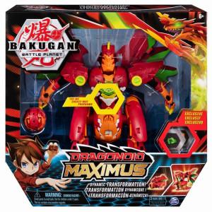 Figurina Bakugan Draganoid Maximus cu sunete si lumini