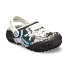 Saboți Copii casual Crocs Crocs Fun Lab Lined Stormtrooper Clog, 23.5 - 25.5, 27.5 - 30.5, Negru