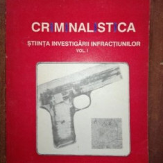 Criminalistica stiinta investigarii infractiunilor 1- E. Stancu
