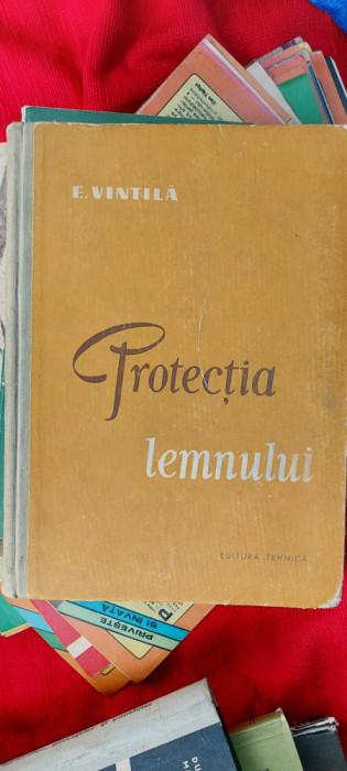 Protectia lemnului  -  E.Vintila