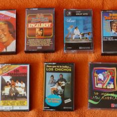 Set casete audio originale
