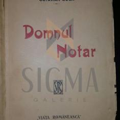 OCTAVIAN GOGA - DOMNUL NOTAR drama in trei acte din viata ardeleneasca, 1914