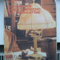 GORGOS ( sub redactia ) - DICTIONAR ENCICLOPEDIC DE PSIHIATRIE ( volumul 4 )