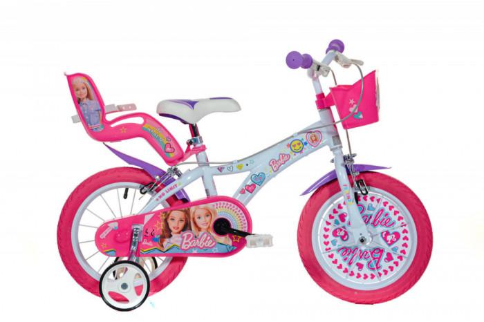 Bicicleta copii 14 - Barbie la plimbare