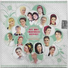 CD  Cei Mai Îndrăgiți Artiști (Top 20 Muzică Populară), original