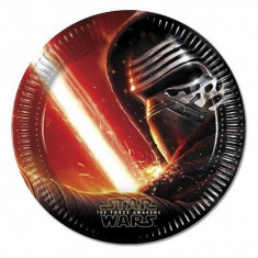 Farfurii Star Wars Force Awakens Party 23 cm set 8 buc