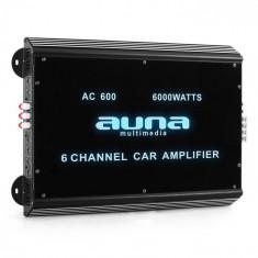 Auna 6 canale amplificator masina6000W acril