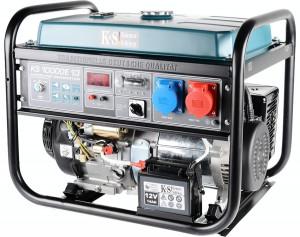 Generator curent mono-trifazat Könner&Söhnen, KS 10000E 1/3, benzina, 8.0 kW